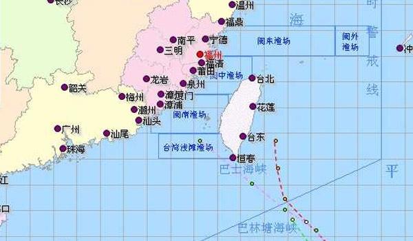 苏拉达维最新动态 上海不受双台风正面影响