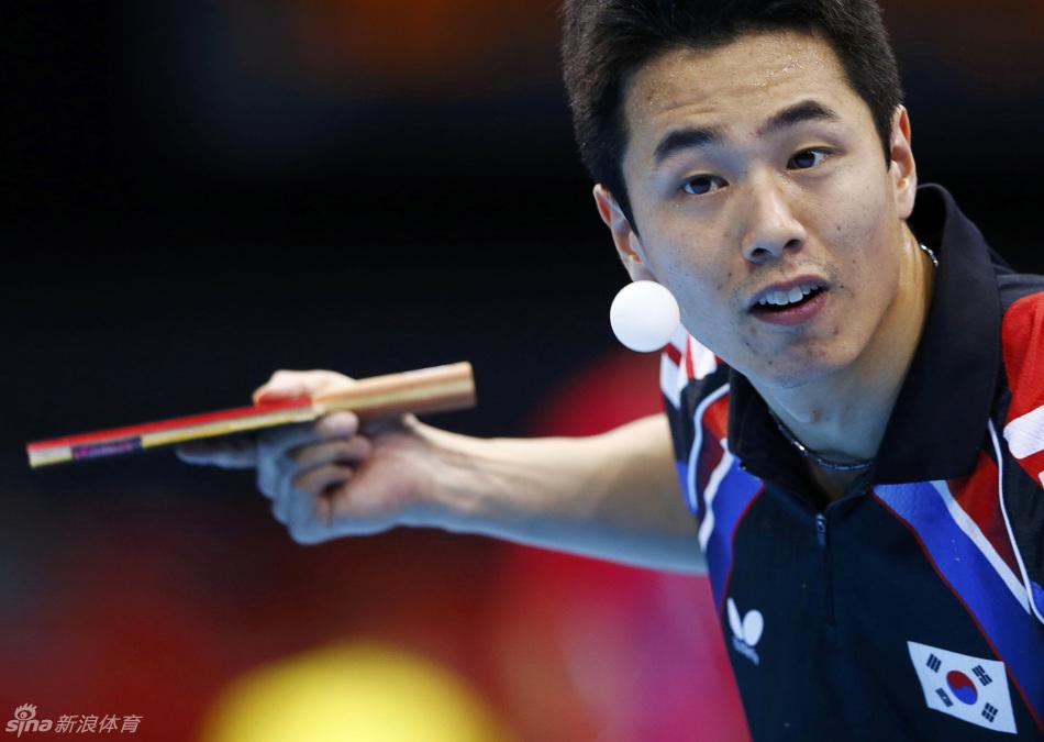 男乒团体决赛 韩国摘银 朱世赫患绝症靠药坚持比赛