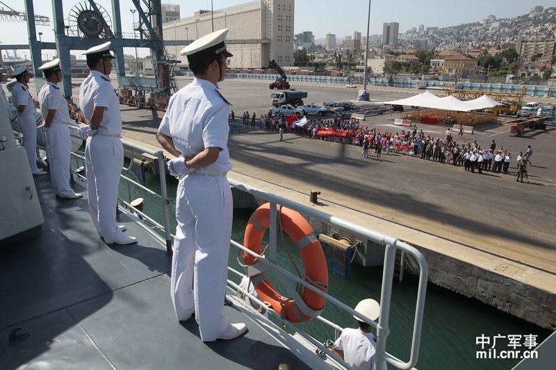 以色列和中国军演_中国军舰访问以色列将举行联合军演美国敢怒不敢言_国际新闻