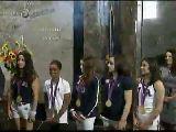 伦敦奥运体操团体金牌美国女子体操队为