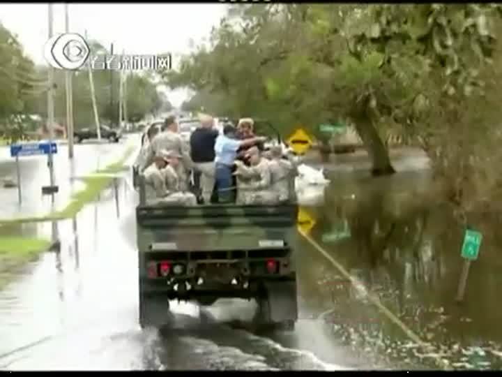 罗姆尼抢先赴美国南部飓风灾区视察