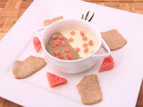 易敏-里脊绿豆沙炖蛋