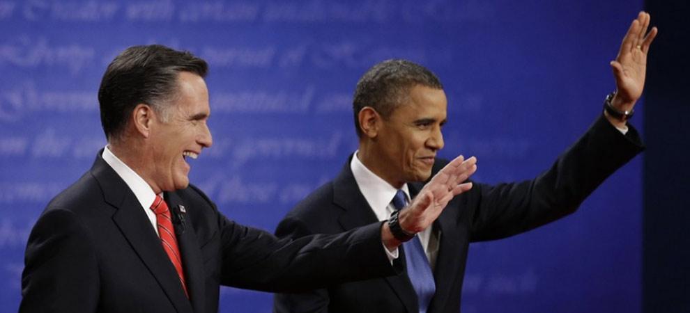 美国2012总统大选首场全国电视辩论会