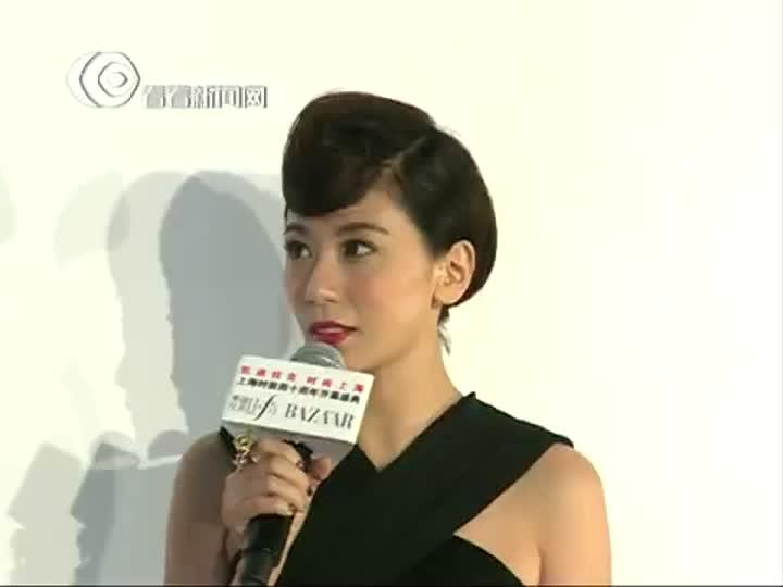 贾静雯:Vera Wang是女人的期待