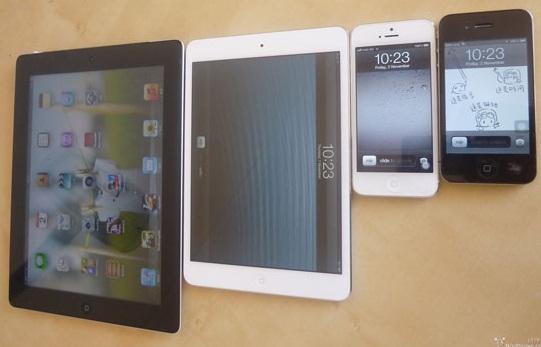 Ipad mini水货充足ipad4拆解功能无新意 与iphone5参数对比盘点图片