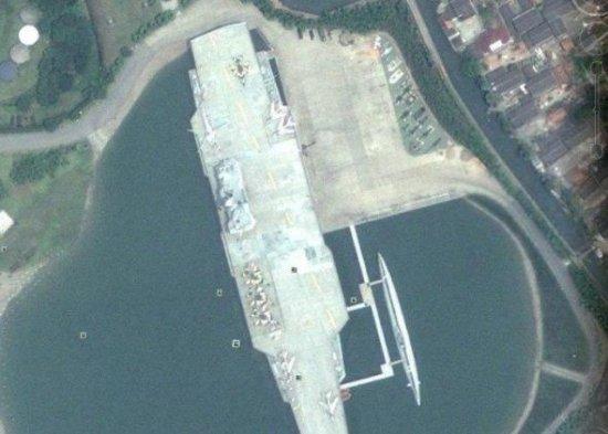 (组图)揭秘中国国产航母建造地江南长兴造船厂