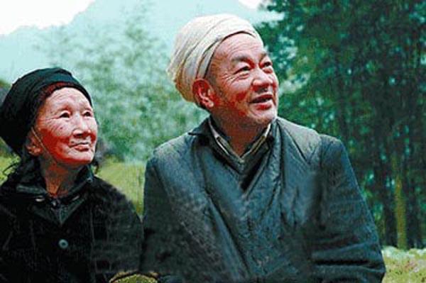 徐朝清和刘国江生前合影