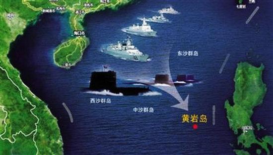 网上谈兵: 回顾一下黄岩岛事件始末,可以估计一下这次事件可能的发展- 由北京哥儿们发表- 文学城