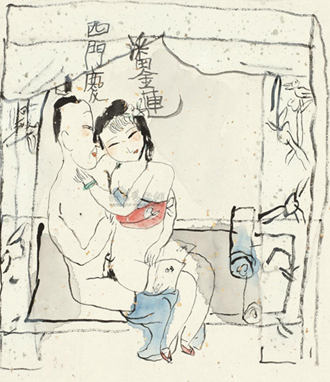图:男子霸占弟媳上演现代版西门庆潘金莲 妻子