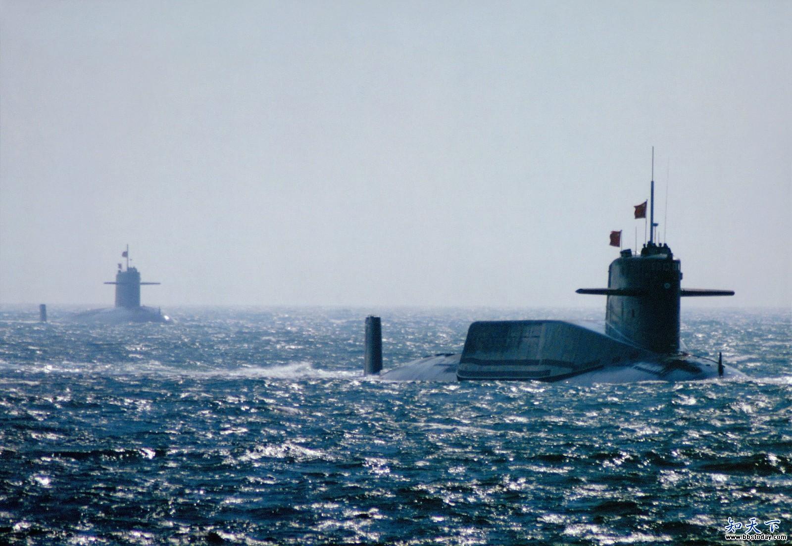 中国海军潜艇高清