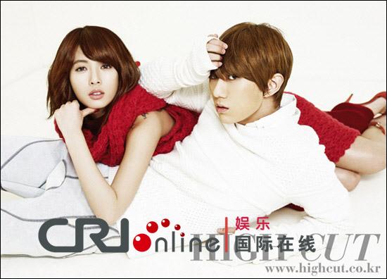 泫雅mama_组图2012MAMA4Minute泫雅与BEAST张贤胜