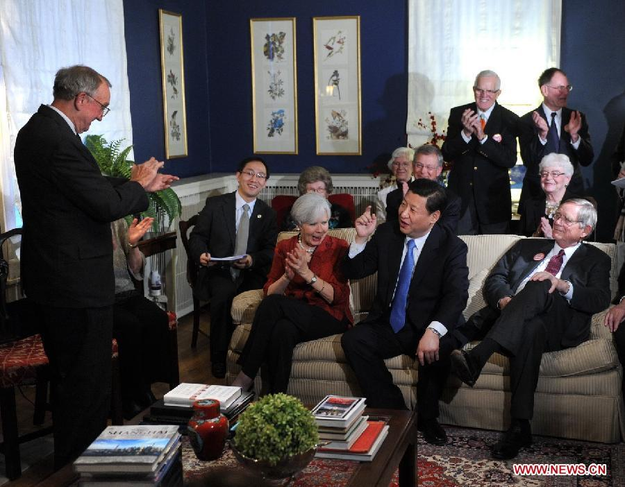 推出习近平主席旧照 国家领导人的家庭生活曝光图片