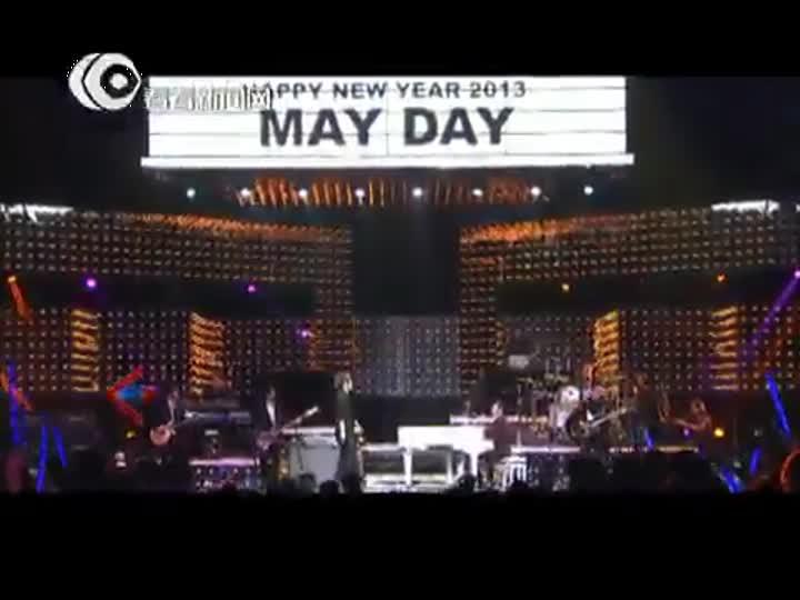 视频:东方卫视跨年盛典 五月天阿信+严爵