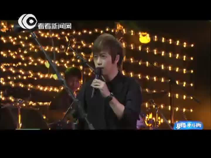 视频:东方卫视跨年盛典 五月天阿信《恋爱