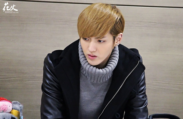 "EXO-M队长吴亦凡仁川机场接机照 完美侧脸令网友大呼""仔锅真心太"