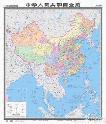 中国地图南海诸岛图片下载