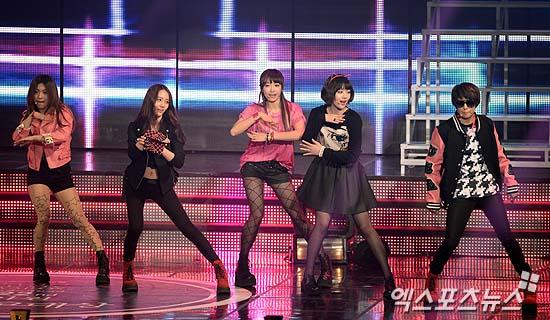 2010年韓國mbc年末歌謠大戰宋茜