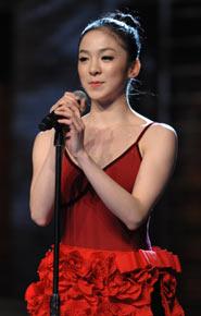 陈洁谢娜_舞林争霸人气选手