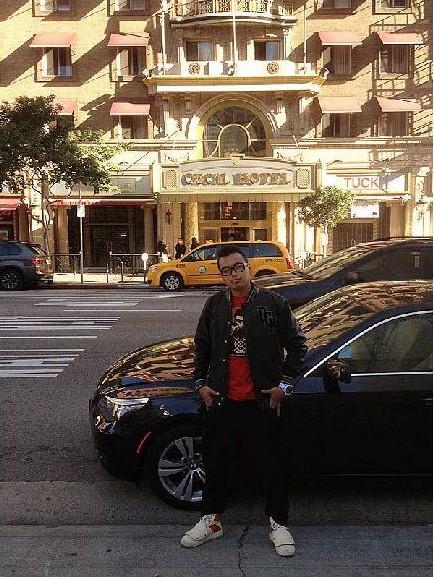 蓝可儿死因最新消息_组图:蓝可儿离奇死亡最新消息 洛杉矶华人实地探访塞西尔酒店 ...