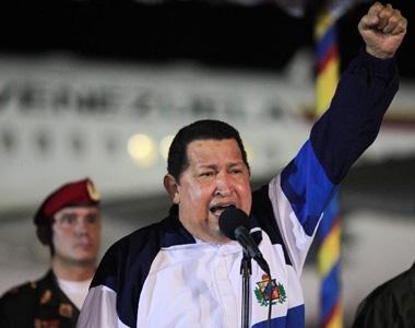 委内瑞拉总统查韦斯结束在古巴治疗返回国内