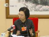 上海代表团审议全国人大常委会报告