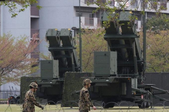 日本部署爱国者导弹应对朝鲜威胁