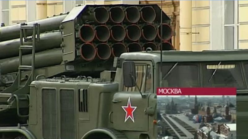 莫斯科红场阅兵:尖端武器频频亮相