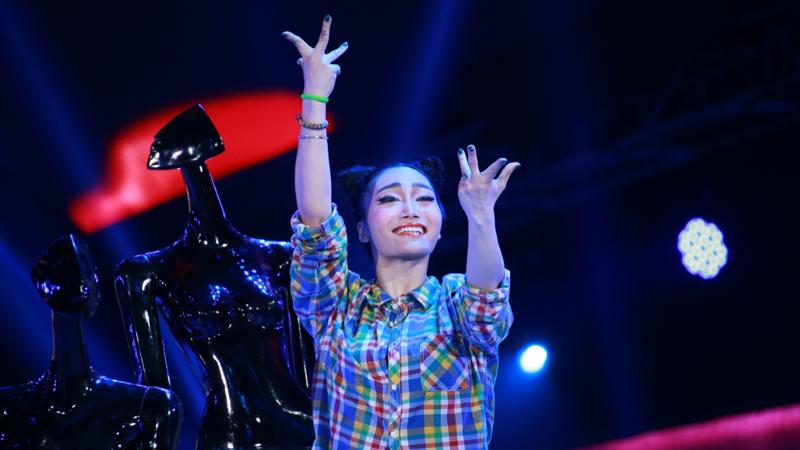 舞林争霸总决选:王润 爵士舞《super star》