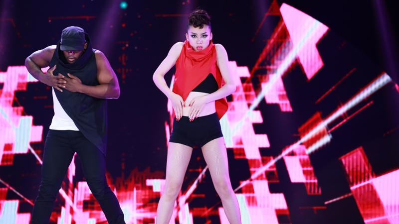 舞林争霸总决选:于雪娇 流行舞《舞蹈治疗》