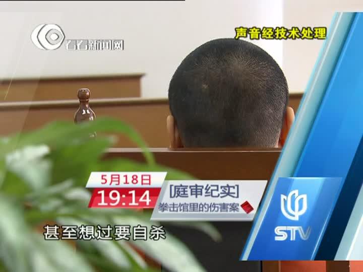 庭审纪实20130518预告片:拳击馆里的伤害案
