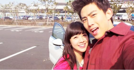 【组图】《我们结婚了》鬼鬼吴映洁跟2PM玉