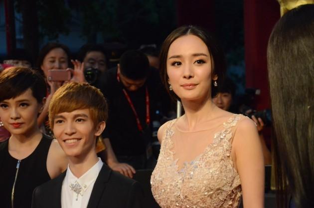 【高清独家】上海国际电影节:杨幂郭敬明身