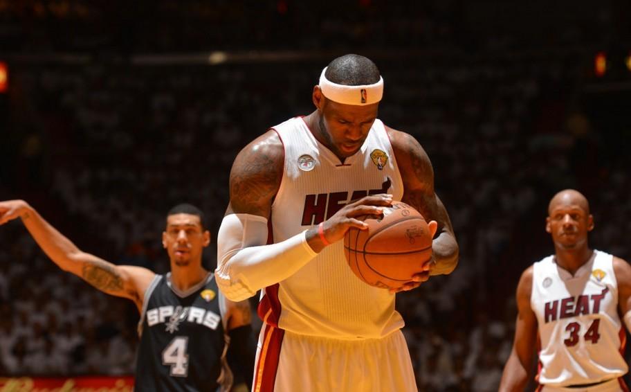 热火vs马刺6月19日NBA总决赛第六场技术统计