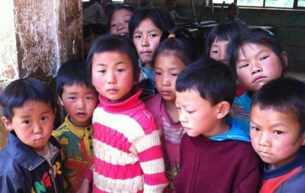 来自小记者的记录:云南的小伙伴们期待的眼神