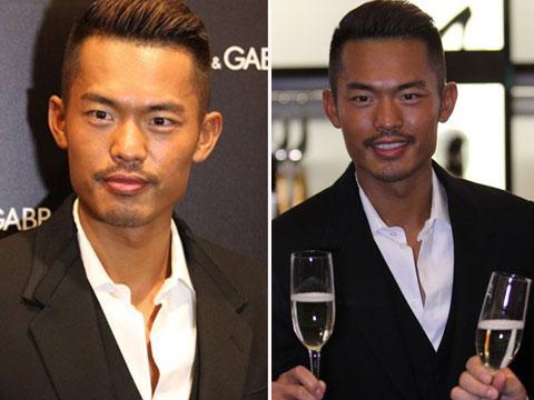 林丹背头小胡子型馒头举杯武汉林丹走路邀饮魅男装型女人现身姿势图片