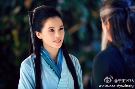 陈妍希小龙女再现丑陋包子