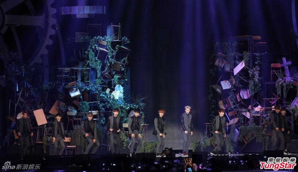 fx携手EXO圣诞上演演唱会 将展示协同舞台圣
