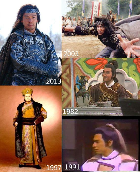 《天龙八部》历版角色造型最完整对比 钟汉良