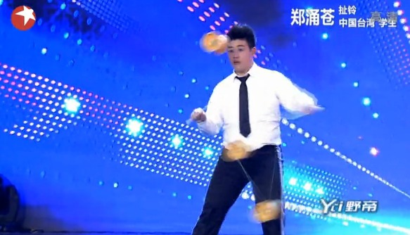 中国达人秀第五季第四期:大迈克横空出世 扯铃小胖完