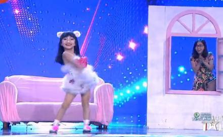 中国达人秀第五季第六期:小学生跳猫舞可爱萌