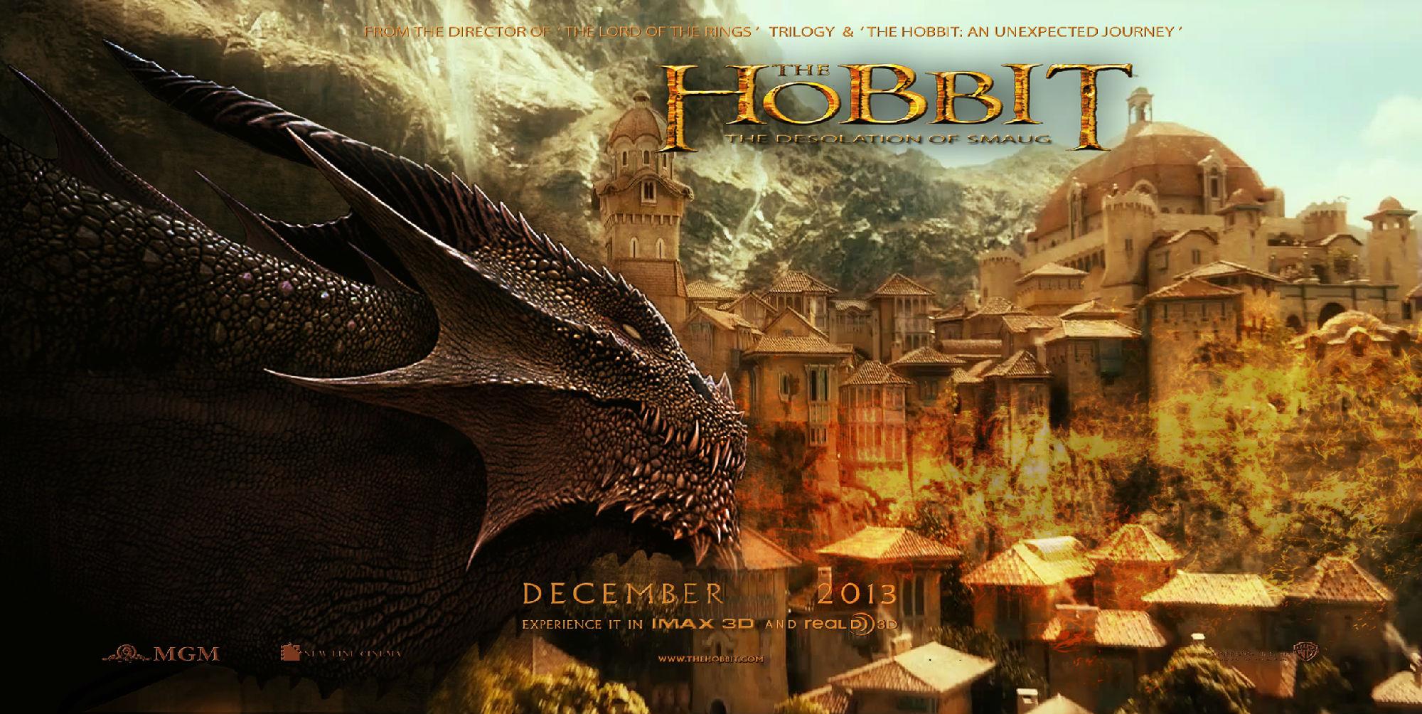 霍比特人2 定档2月底国内上映 神探夏洛克 卷福花生再合作讲寻宝探险故事