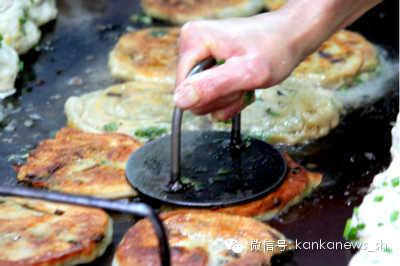 看懂上海:老上海的葱油饼 - 美人迟暮 - 美人迟暮,知足尔乐
