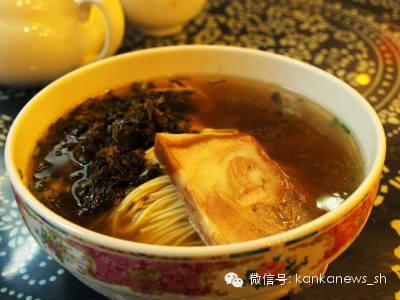 看懂上海:德兴馆的闷蹄面 - 美人迟暮 - 美人迟暮,知足尔乐