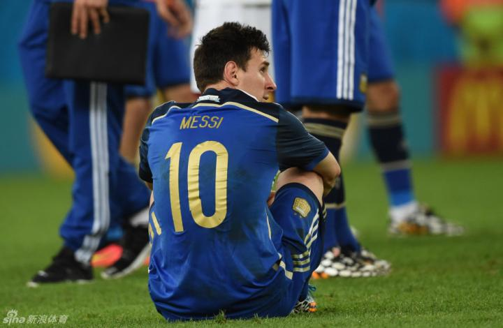 图集|2014世界杯落幕:阿根廷失利 梅西失落