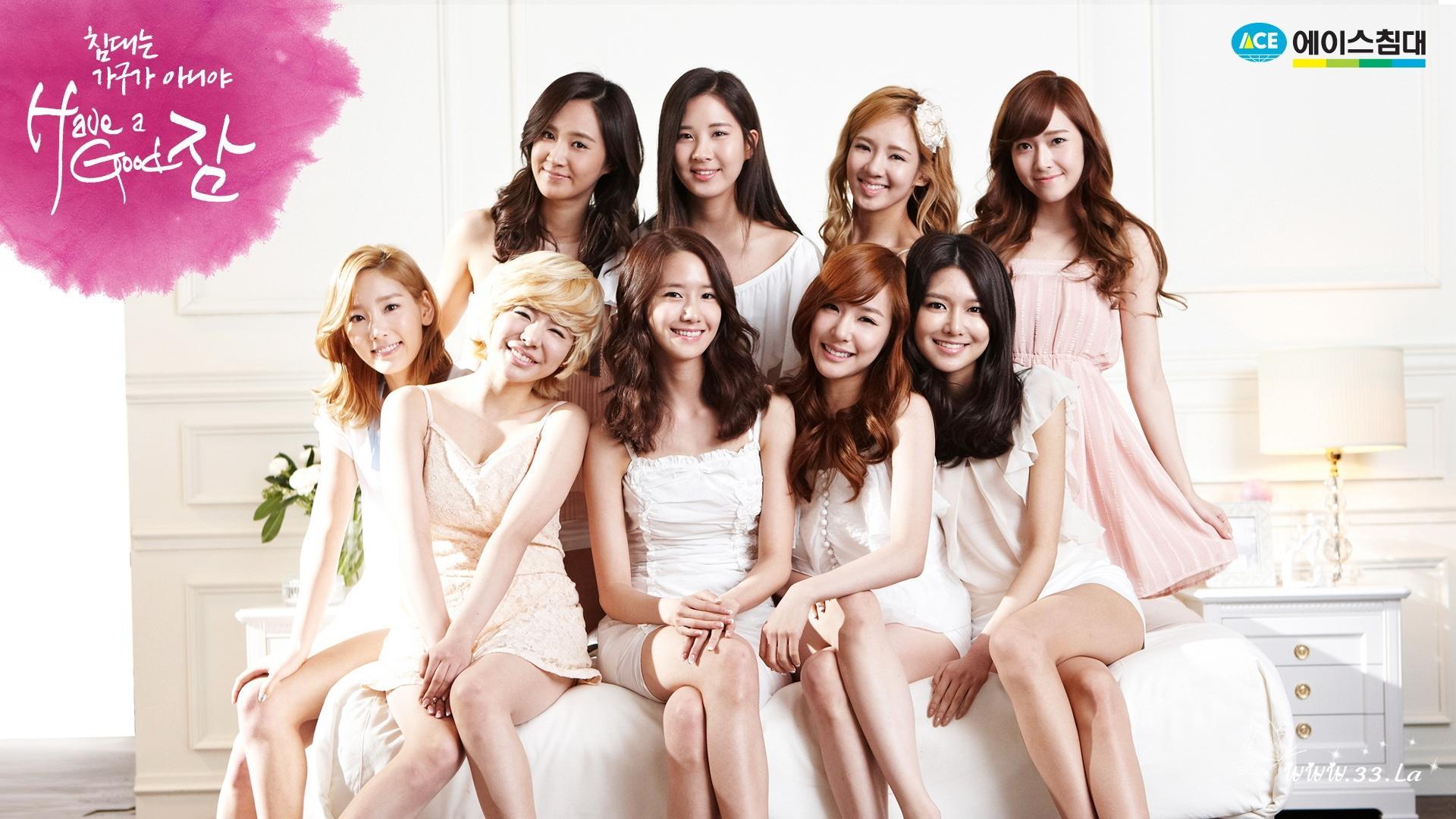 韩国当红女子团体 少女时代老当益壮 f x miss a迅速成长 高清图片