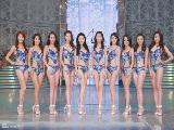 香港小姐泳装进化史:布料少了胸围也小了?镂