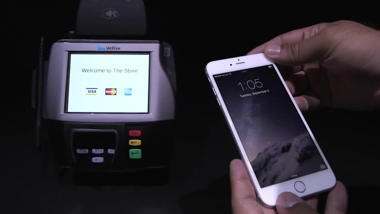 视频:苹果移动支付服务Apple Pay上手实测 或威胁Square和