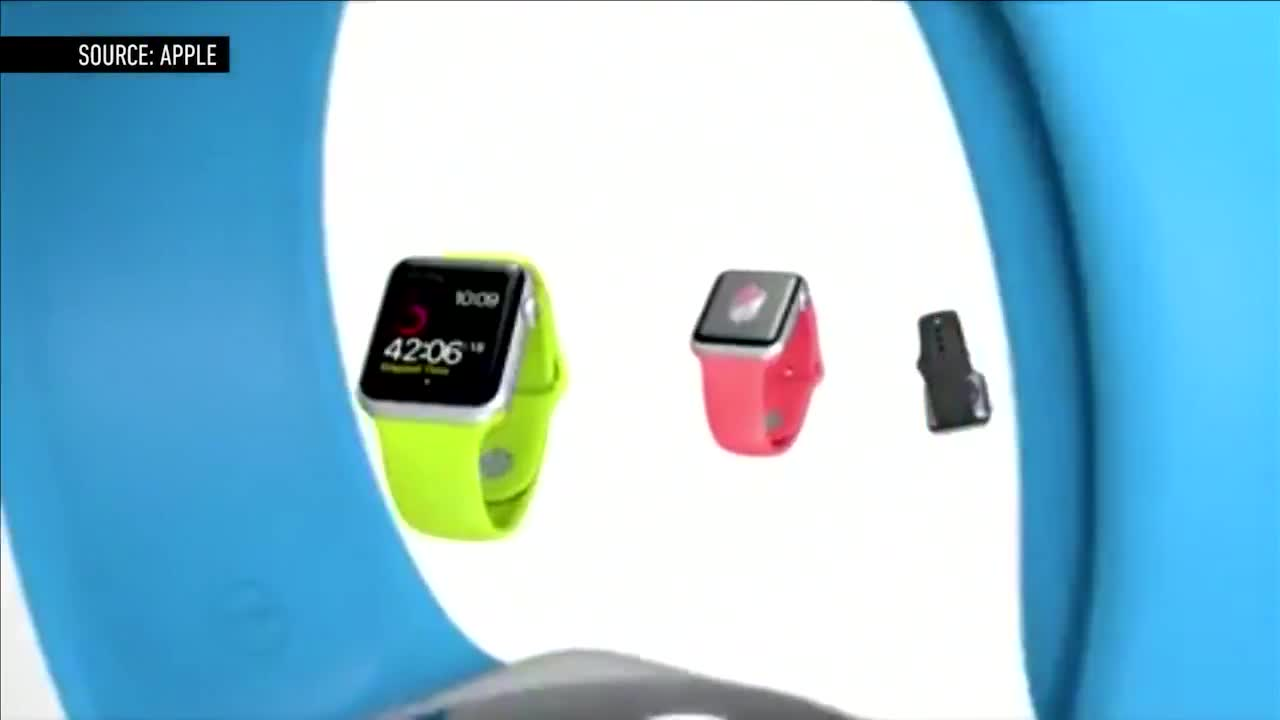 视频:2分钟看懂苹果智能手表Apple Watch亮点