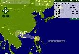 """【实时路径】第15号台风""""海鸥""""进入南海"""