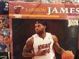NBA大乌龙!詹姆斯登上热火2015年年历封面【
